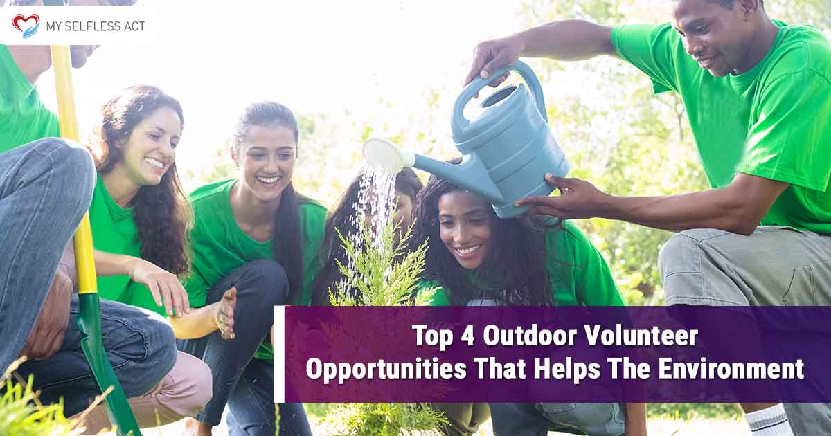 Outdoor Volunteer Opportunities