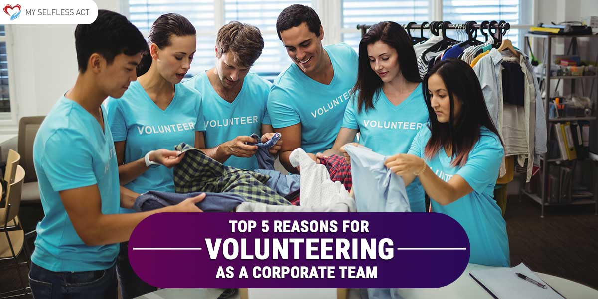 Volunteering As A Corporate Team