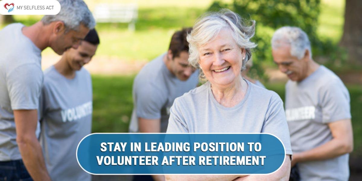 Volunteer after Retirement