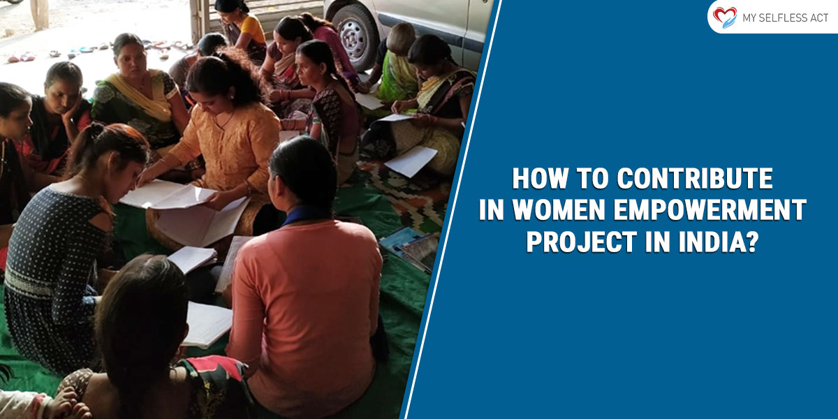 Volunteer for Women Empowerment