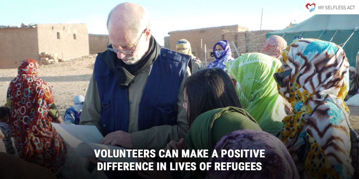 Volunteers Can Make a Positive Difference in Lives of Refugees
